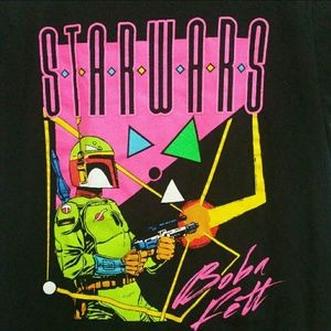 Star Wars Tops - 90s Star Wars Boba Fett Shirt Size small